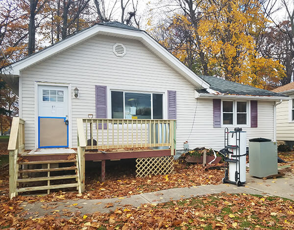 2BR home, newly remodeled in Painesville, Ohio